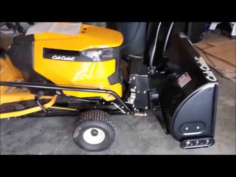 hqdefault cub cadet snowblower 19a40024100 install youtube  at mifinder.co