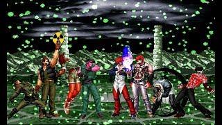 MUGEN KOF Super Ikari Warriors Team Vs. Orochi Iori Team