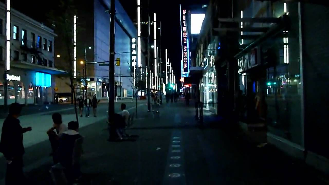survive this vancouvers granville street at night