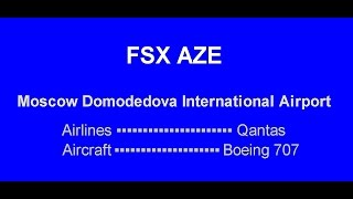 FSX Azerbaijan Airlines Landing İstanbul