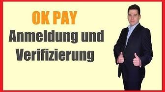 Anleitung OKPAY Registrierung und Verifizierung