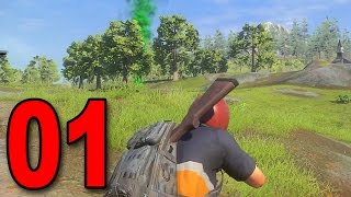 H1Z1 King of the Kill #1 - HUNGER GAMES!
