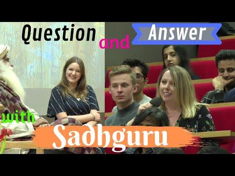 Sadhguru - Question