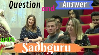 Sadhguru - Question and Answer - London School of Economics