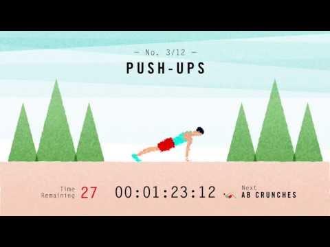 Scientific 7-Minute Workout (Non-Music Version)