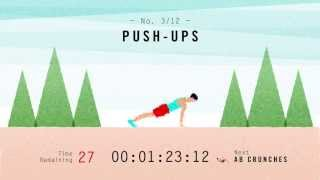 Scientific 7-Minute Workout (Non-Music Version)