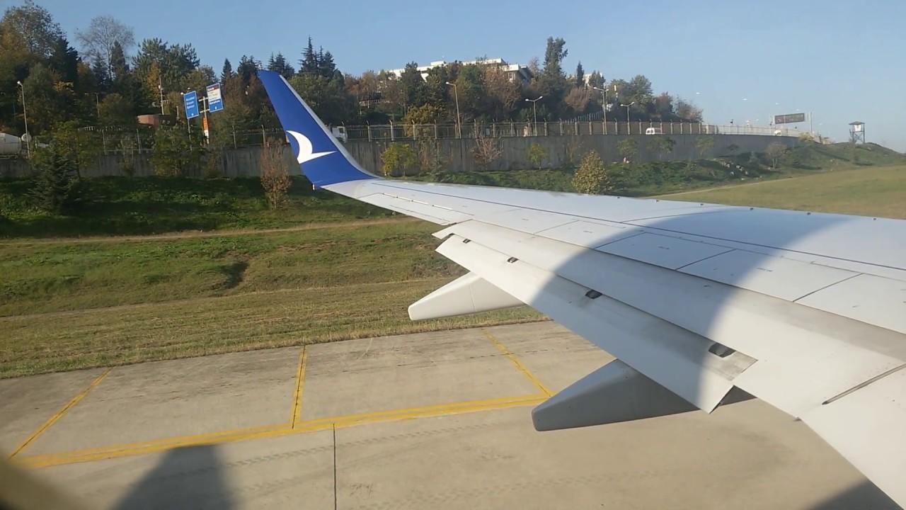 Trabzon Havalimanı KALKIŞ ANI - Anadolu Jet