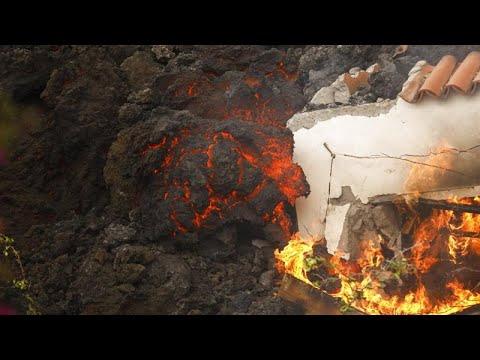 Download Volcán en la isla de La Palma | Unas 300 viviendas destruidas y los nervios a flor de piel