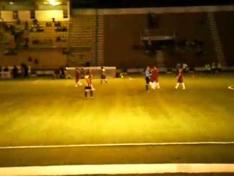 """4to Gol del Carabobo FC vs Dvo. Táchira """"B"""" (Autogol de Loren Ray)"""