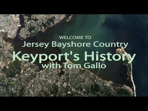 Jersey Bayshore Country #7 - Keyport History