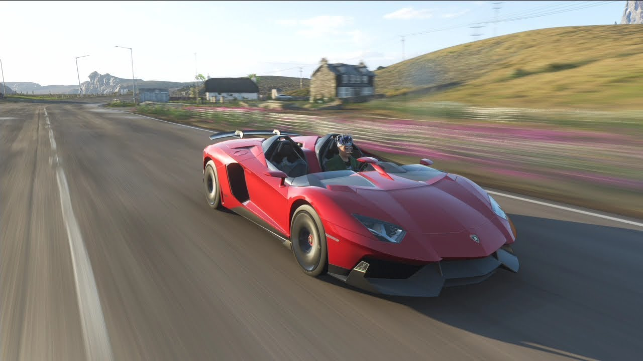 Forza Horizon 4 How To Get The Lamborghini Aventador J