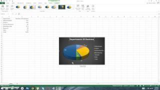 با 101: إنشاء و تصميم طاولة/الرسم البياني باستخدام Excel