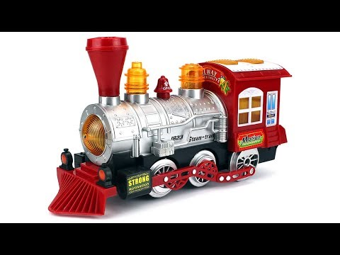 Toys Steam Train Locomotive Engine Car Bubble