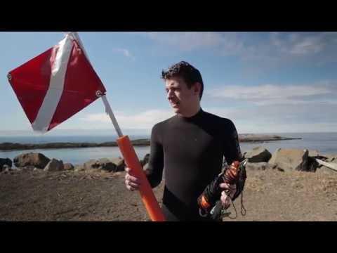 Simple DIY Diver Down Flag