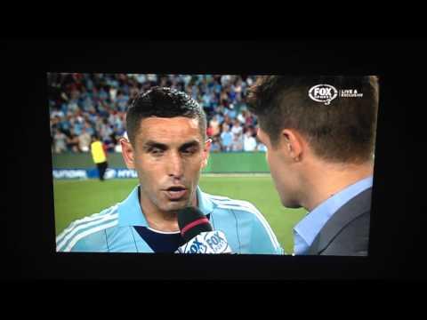 Ali Abbas Interview After Sydney Derby 6. 8/03/14