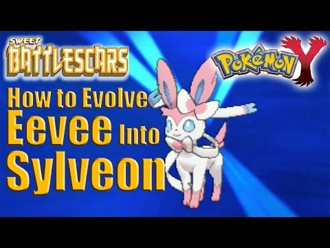 POKEMON Y - HOW TO EVOLVE EEVEE INTO SYLVEON -HD- 3DS CAPTURE CARD