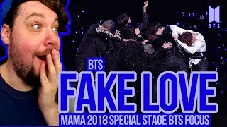Mikey Reacts to BTS 'Fake Love' MAMA 2018 Special Stage (BTS Focus)