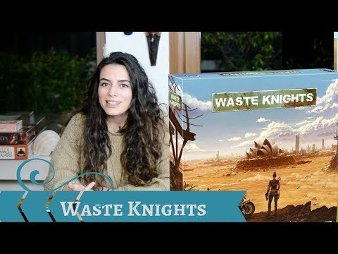Play it Right - Waste Knights (second edition) | Cardboard Rhino