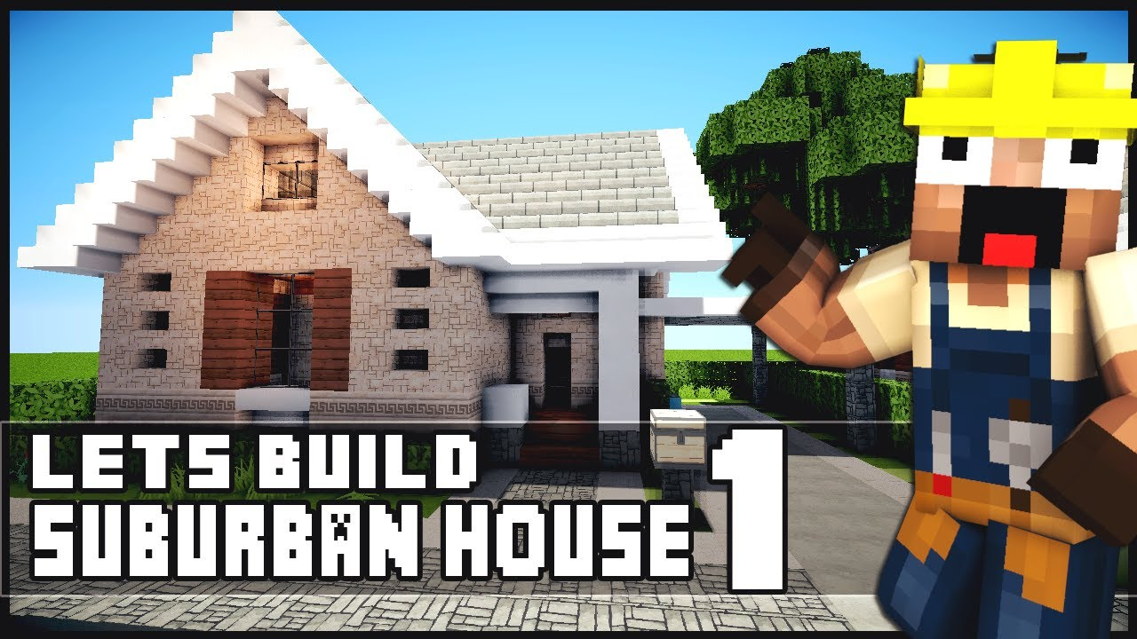Minecraft small modern house tutorial keralis house plan for Keralis modern house 9 part 1