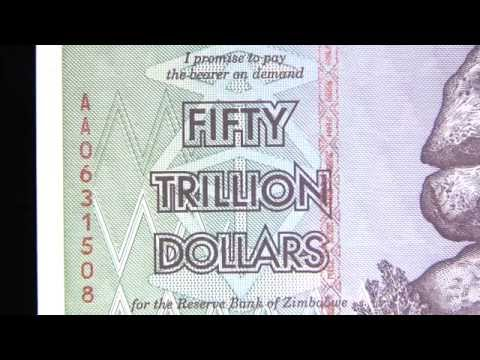 Zimbabwe Date of Our Choice Unc. $50 Trillion Note at Art and Coin TV