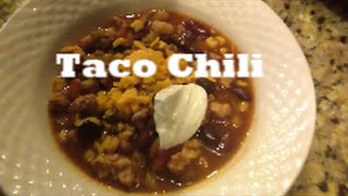What's For Dinner?taco Chili  Crock Pot Meals With Busybeingmom
