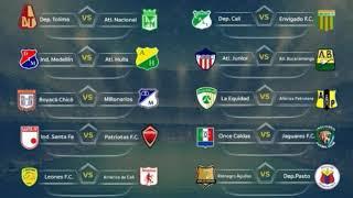 ⚽ Resultados ⚽1 primera fecha liga águila 2018.