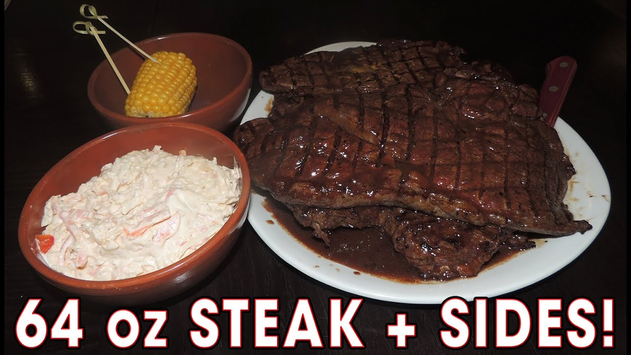 Spur S 64oz Steak Challenge Record Youtube