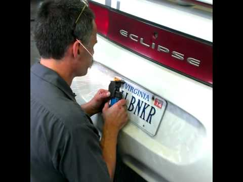 How to remove a stubborn license plate & How to remove a stubborn license plate - YouTube