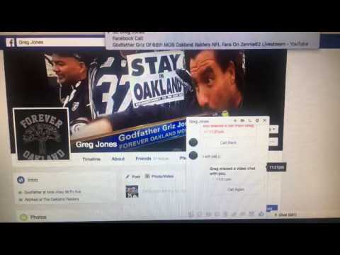 Godfather Griz Of 66th MOB Oakland Raiders NFL Fans On Zenni
