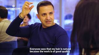 Processus de greffe de cheveux - Turquie