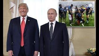 Really spectacular games: Trump congratulates Putin again on World Cup - 247 news