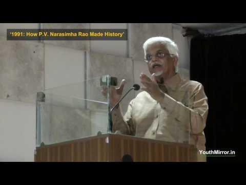 Dr Sanjaya Baru on 1991, PV Narasimha Rao and his new book