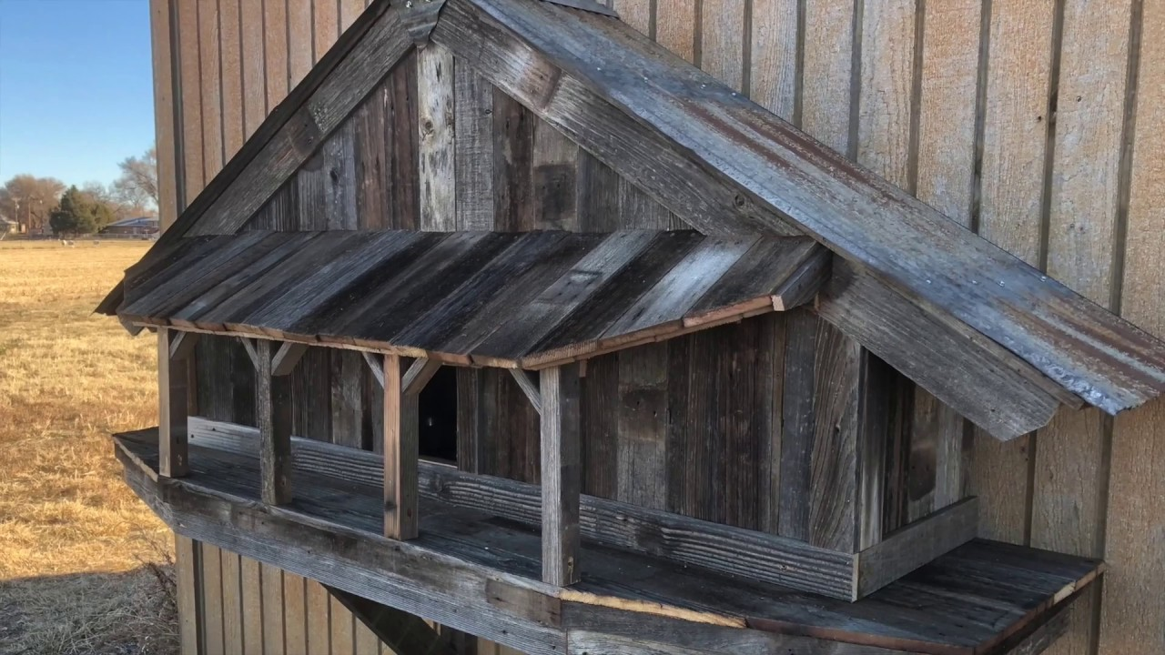 Building a Cat House With Reclaimed Wood