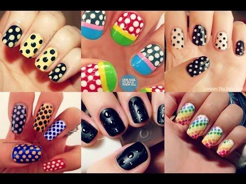 Nail art 5 types of nail design 2015 youtube nail art 5 types of nail design 2015 prinsesfo Gallery