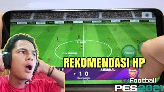 REACTION VIDEO TES GAME PES 2020 MOBILE DI BEBERAPA HP ANDROID | REKOMENDASI UNTUK KALIAN