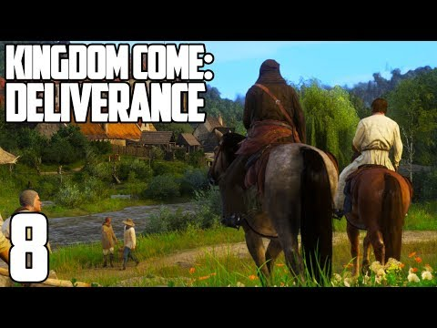 OUR FIRST DATE AND A HUNT!! | Kingdom Come: Deliverance Gameplay Let's Play #8