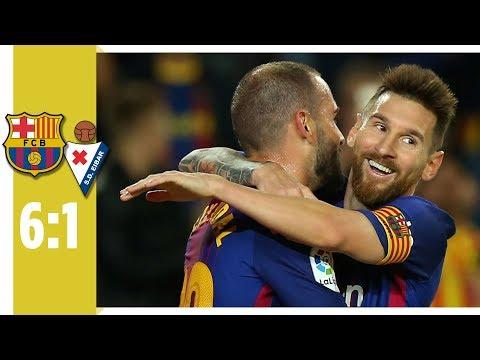 FC Barcelona - SD Eibar 6:1 / Messi brilliert mit 4 Toren