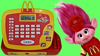 TROLLS Mcdonald Cash Register with Cashier Poppy | Toys Unlimited
