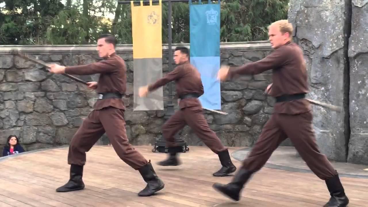 Durmstrang Dancers At Harry Potter Land Opening 2016