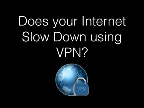 Does Your Internet Speed Slow Down Using a VPN - Speed Test Comparison