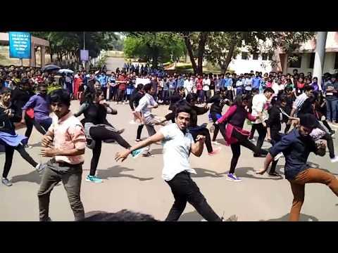 Mindkraft 2k16  Flashmob/karunya university