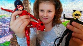 КЛАССНЫЕ КУКЛЫ ЛЕДИ БАГ И СУПЕР КОТ (Ladybug & Cat Noir) обзор игрушки из мультфильма