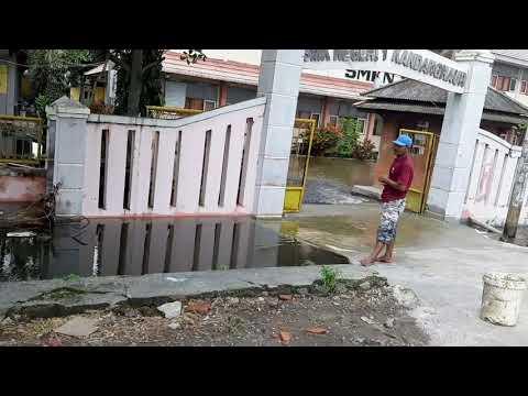 BANJIR PANTURA // DESA ILIR KEC. KANDANGHAUR - INDRAMAYU // 9 FEBRUARI 2021