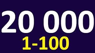 Уроки английского языка. Английские слова 1-100. АНГЛИЙСКИЙ  для начинающих. Английский язык