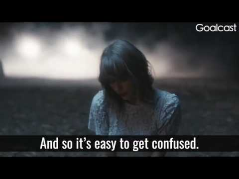 Taylor Swift's Inspirational Speech