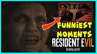 Best scary moments of Resident Evil 7 (Resident Evil 7 funniest moments)