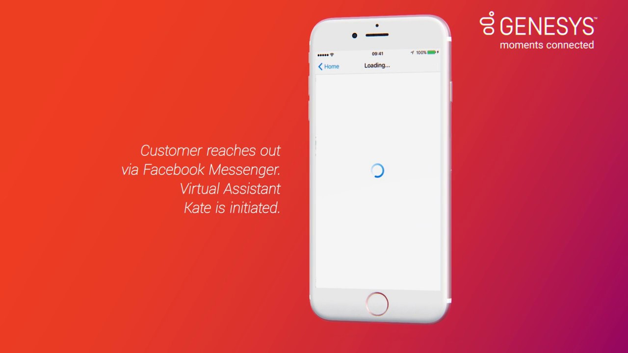 Blended AI by Genesys with Facebook Messenger Bot