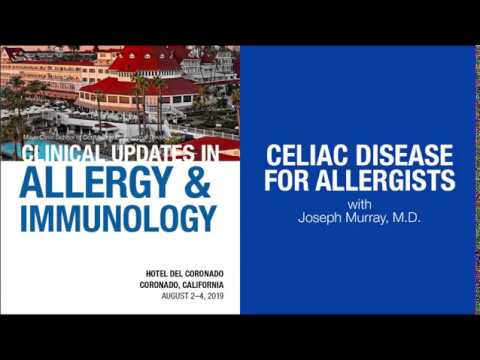 CME Preview: Clinical Updates in Allergy & Immunology 2019 #Gastroenterology