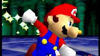 Super Mario 64 45 star speedrun in 35:15