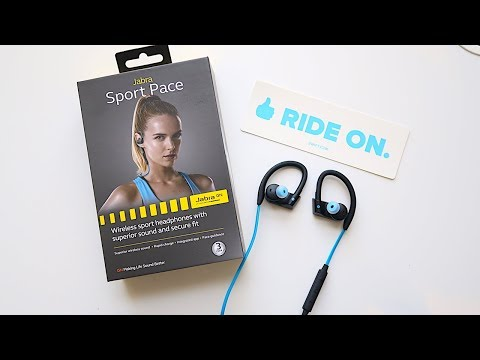 Jabra Sport Pace - Wireless Bluetooth Headphones for Indoor Cycling